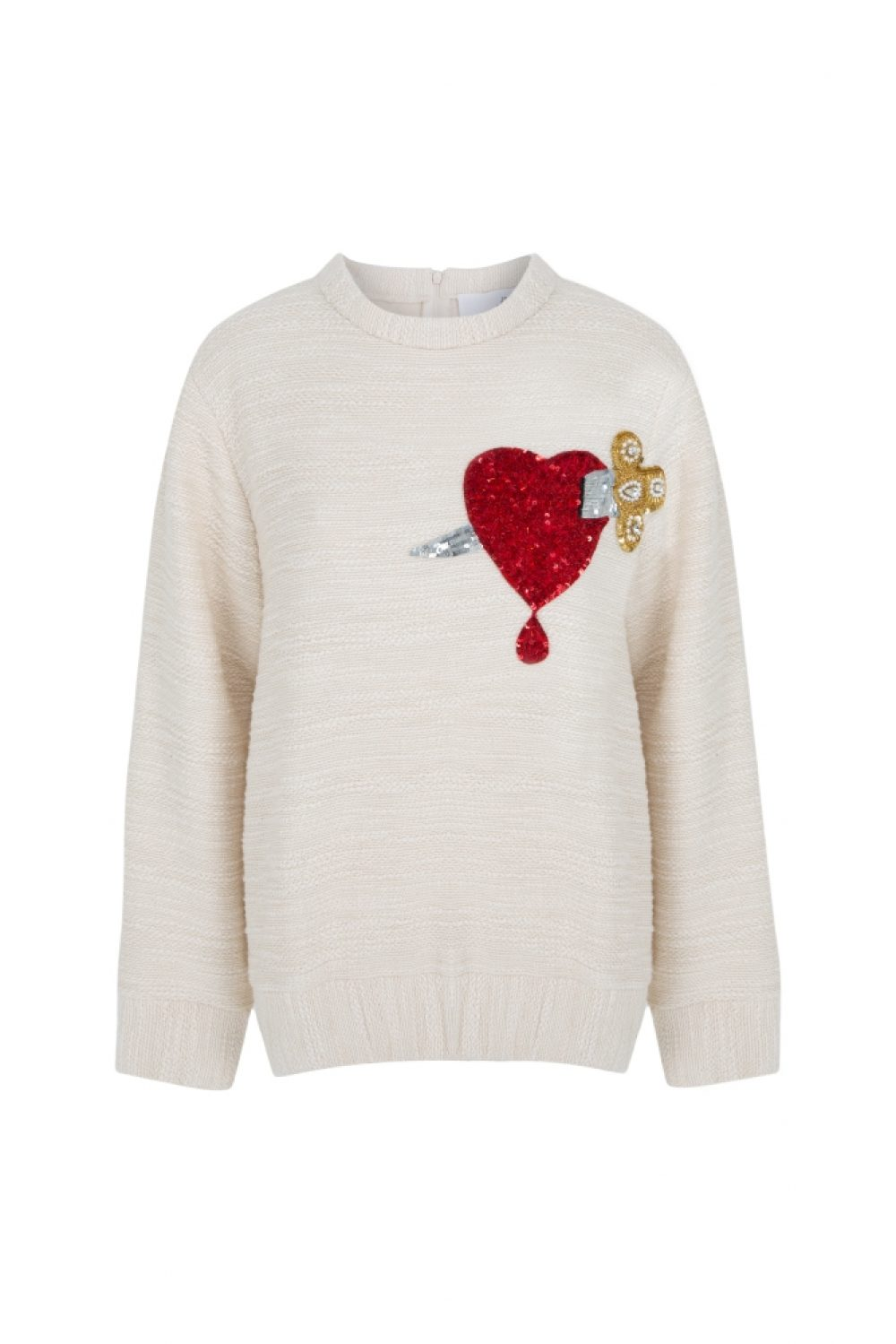 Heart And Dagger Knit Sweater
