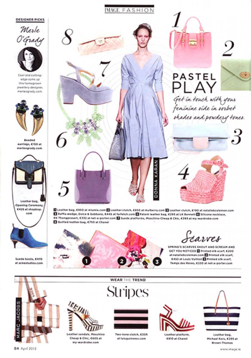 Grazia Middle East, March 2013